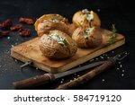 Baked Potatoes With Prosciutto...