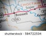 Small photo of Boswell. Oklahoma. USA