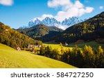sunny day in ssnta magdalena... | Shutterstock . vector #584727250