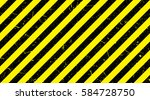 line yellow and black color... | Shutterstock .eps vector #584728750