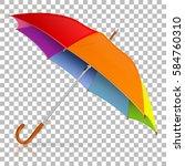 high detailed varicolored... | Shutterstock .eps vector #584760310