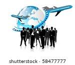 business concept design | Shutterstock .eps vector #58477777