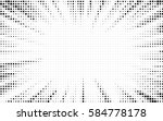 explosion vector illustration.... | Shutterstock .eps vector #584778178