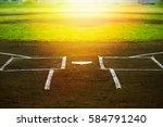 baseball field | Shutterstock . vector #584791240
