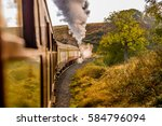 steam locomotive | Shutterstock . vector #584796094