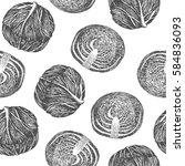seamless pattern design or...   Shutterstock .eps vector #584836093