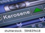 index of kerosene. up.   Shutterstock . vector #584839618