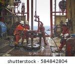 malaysia  16 july 2006  miri... | Shutterstock . vector #584842804