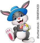 vector illustration of happy... | Shutterstock .eps vector #584854420
