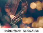 Jazz Saxophone Player In...