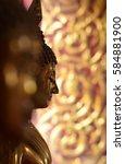 buddha statue | Shutterstock . vector #584881900