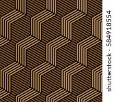 brown and black pattern... | Shutterstock .eps vector #584918554