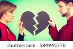 break up and leave in... | Shutterstock . vector #584945770