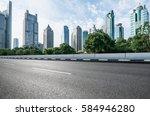 Inner City Road In Shanghai...