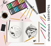 Artistic Design Concept With...