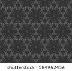 decorative wallpaper design in... | Shutterstock . vector #584962456