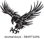 attack eagle | Shutterstock .eps vector #584971696