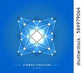 stroke linear isolated... | Shutterstock .eps vector #584979064