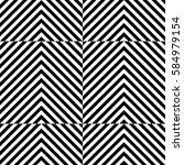 vector seamless pattern.... | Shutterstock .eps vector #584979154