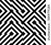 vector seamless pattern.... | Shutterstock .eps vector #584979184
