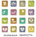 love vector icons for user...   Shutterstock .eps vector #584992774