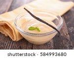 vanilla cream | Shutterstock . vector #584993680