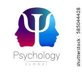 Modern Head Sign Logo Of...