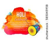 holi colorful background