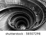 Spiraling Stairs In Vatican...