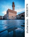 palazzo vecchio | Shutterstock . vector #585083974