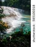 Small photo of Landscape in Agua Azul