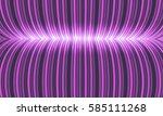 abstract futuristic vector... | Shutterstock .eps vector #585111268