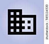 squares icon | Shutterstock .eps vector #585116530