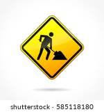 illustration of yellow...   Shutterstock .eps vector #585118180