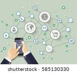 abstract  idea background....   Shutterstock .eps vector #585130330