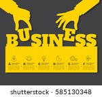 startup background. beginning...   Shutterstock .eps vector #585130348