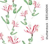 Seamless Pattern.sprig Of...
