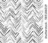 vector seamless pattern in... | Shutterstock .eps vector #585186019