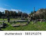 Small photo of Basilica Aemilia and Column of Phocas.