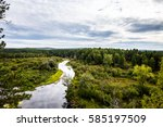 panorama of the natural...   Shutterstock . vector #585197509