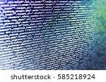 coding script text on screen....   Shutterstock . vector #585218924