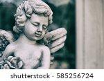 Cute Little Cupid Angel Statue...