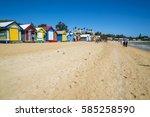 melbourne  australia   january... | Shutterstock . vector #585258590