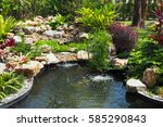 Beautiful Garden And Small...