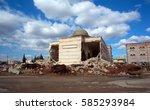 A Damage Mosque After A War...