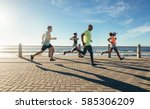full length shot of young... | Shutterstock . vector #585306209