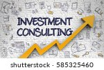 investment consulting  ... | Shutterstock . vector #585325460