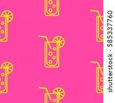 pattern. background texture.... | Shutterstock .eps vector #585337760
