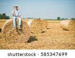 Portrait Of A Smiling Farmer...