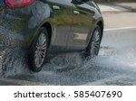 bergamo italy in june 2014 ... | Shutterstock . vector #585407690